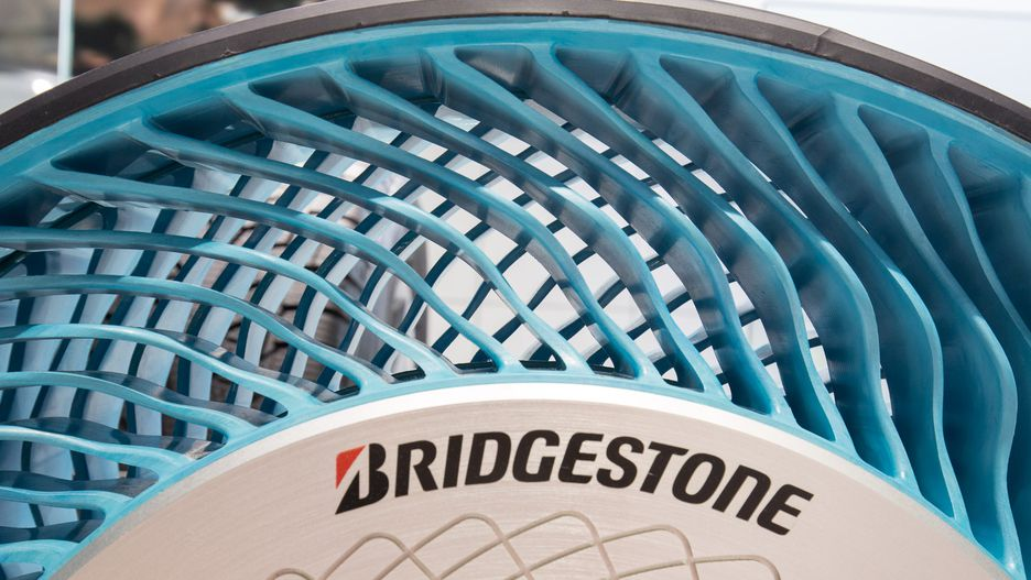 bridgestone air free concept tire