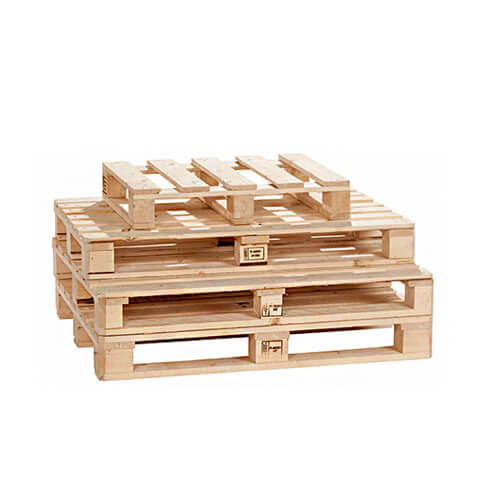 wooden pallets for storage