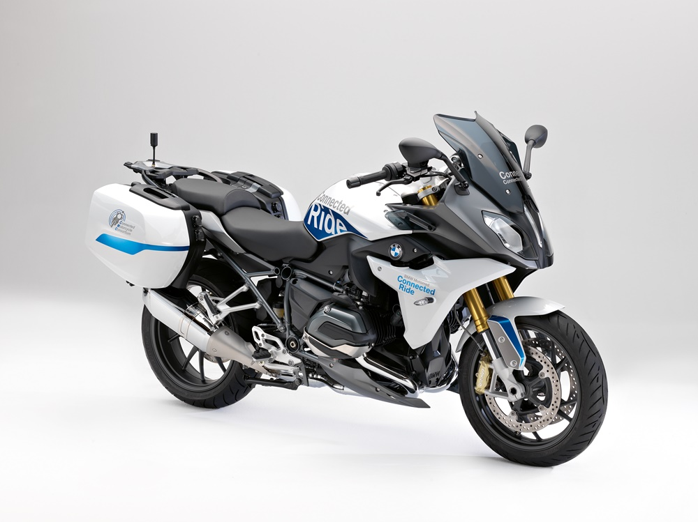 Концепт BMW R1200RS «Connected Ride»